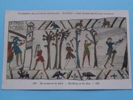 TAPISSERIE De La Reine MATHILDE Bayeux The Queen Mathilda TAPESTRY ( N° 138 ) Anno 19?? ( Zie Foto Voor Details ) - Belle-Arti