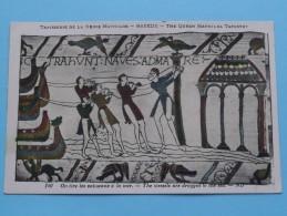 TAPISSERIE De La Reine MATHILDE Bayeux The Queen Mathilda TAPESTRY ( N° 140 ) Anno 19?? ( Zie Foto Voor Details ) - Belle-Arti
