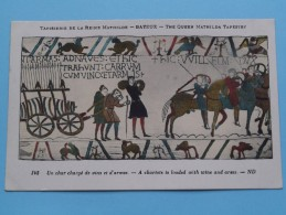 TAPISSERIE De La Reine MATHILDE Bayeux The Queen Mathilda TAPESTRY ( N° 142 ) Anno 19?? ( Zie Foto Voor Details ) - Belle-Arti