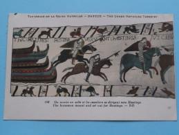 TAPISSERIE De La Reine MATHILDE Bayeux The Queen Mathilda TAPESTRY ( N° 148 ) Anno 19?? ( Zie Foto Voor Details ) - Objets D'art
