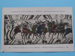 TAPISSERIE De La Reine MATHILDE Bayeux The Queen Mathilda TAPESTRY ( N° 155 ) Anno 19?? ( Zie Foto Voor Details ) - Objets D'art