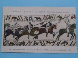 TAPISSERIE De La Reine MATHILDE Bayeux The Queen Mathilda TAPESTRY ( N° 156 ) Anno 19?? ( Zie Foto Voor Details ) - Belle-Arti