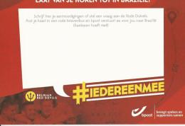 Diables Rouges - Brésil (texte Néerlandais) - Cartes Postales