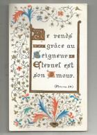 Image Religieuse , Image Pieuse , Je Rends Grace Au SEIGNEUR , Ed : Médiaspaul - Images Religieuses