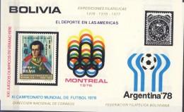 ##H654. Bolivia 1975. Bloc. Michel 62. MNH(**) - Bolivia