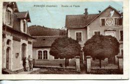 N°51368 -cpa Forges -école Et Poste- - Postal Services