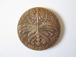 POLAND,NATIONAL EXHIBITION IN POZNAN 1929,AWARD MEDAL - Medaillen & Ehrenzeichen