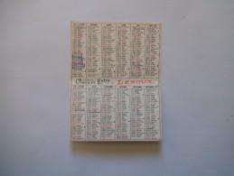 CALENDRIER 1979 CHICOREE EXTRA LEROUX - Calendarios