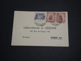 COLOMBIE - Carte Commerciale De Rio De Oro Pour Paris En 1939 , Affranchissement Plaisant - A Voir - L  3981 - Colombia