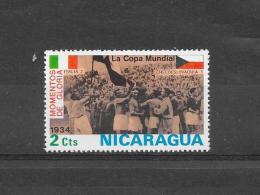 Nicaragua  1977 Y&T Nr° 954 Oude Voetbal Glorie (**) - Nicaragua