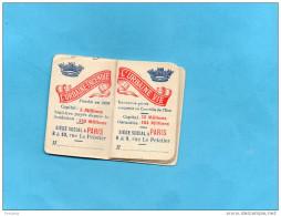 "Petit Agenda Calendrier -1919- Offert Par Urbaine Et La Seine-""assurances"" - Tamaño Pequeño : 1901-20"