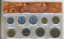 Litauen Satz Von 1991 1 Cent Bis 5 Litai (100K-1)) - Litauen