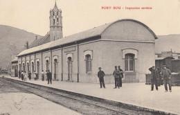 CPA - Port Bou - Inspeccion Sanitara - Espagne