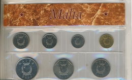 Malta Kurssatz Von  1 Cent Bis 1 Lira (101K-1)) - Litauen