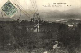A 1119 - Espagne   San Sebastian     Transbordeur Del Monte Ulia - Guipúzcoa (San Sebastián)