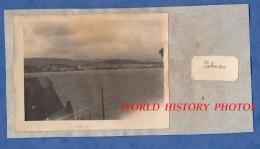 Photo Ancienne - PALMA De MAJORQUE / MALLORCA - Vue Prise Du Cuirassé Jeanne D´ Arc - Navire De Guerre Marine Nationale - Bateaux