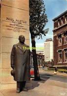 CPSM CHARLEROI  MONUMENT PAUL PASTUR FONDATEUR DE L'UNIVERSITE DU TRAVAIL - Charleroi