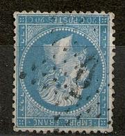 RARE AINSI, ETOILE DE PARIS 6 P1. Chiffre 6 Déformé. - 1862 Napoléon III