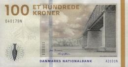 DENMARK 100 KRONER 2010 P-66b UNC  [ DK936b ] - Denmark
