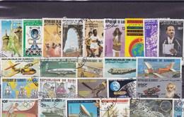 DJIBOUTI : Y&T : Lot De 25 Timbres  Oblitérés - Gibuti (1977-...)