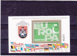 HONGRIE 1977 CSCE EUROPE Yvert BF 132 NEUF** MNH