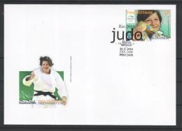 3333/ A13 Slowenien Slovenia 2016 FDC Brasil Rio De Janeiro Olympic Gold Medal Judo Tina Trstenjak