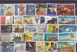 DJIBOUTI : Y&T : Lot De 30 Timbres  Oblitérés - Djibouti (1977-...)