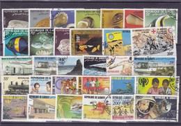 DJIBOUTI : Y&T : Lot De 30 Timbres  Oblitérés - Gibuti (1977-...)