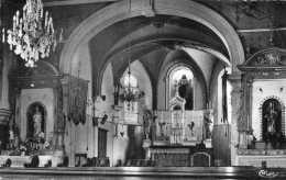 CPSM - SECOURT (57) - L'intérieur De L'Eglise En 1950 - Otros Municipios