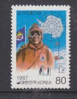 Korea South 1987 Antarctica 1v ** Mnh (32614D) - Unclassified