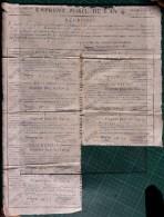 EMPRUNT FORCE DEL´AN IV - COMMUNE De PERRIER (63 - PUY DE DÔME)  CANTON D´ ISSOIRE - TRES RARE - - Historical Documents