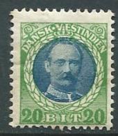 Antilles Danoises    - Yvert N° 39 *   Ava1022 - Denmark (West Indies)