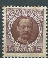 Antilles Danoises    - Yvert N° 38 *   ( Rousseurs Au Dos ) Ava1024 - Denmark (West Indies)