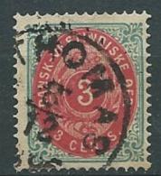 Antilles Danoises  -- Yvert N° 6 Oblitéré Ava1026 - Denmark (West Indies)