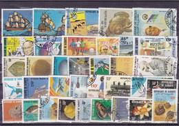 DJIBOUTI : Y&T : Lot De 35 Timbres  Oblitérés - Djibouti (1977-...)