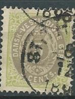 Antilles Danoise    -- Yvert N° 8 Oblitéré  Ava1031 - Denmark (West Indies)