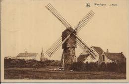 CPA Belgique Belgie Moulin à Vent Circulé Wenduyne - Belgique