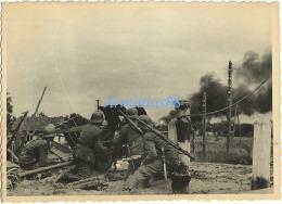 Wehrmacht - Canon Antichar Allemand PaK 36 De 3,7 Cm Sur Champ De Bataille - War, Military