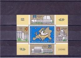 HONGRIE 1980 CSCE EUROPE Yvert BF 151 NEUF** MNH
