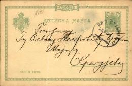 SERBIE - Entier Postal Voyagé - A Voir - L  4011 - Serbie