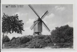 CPA Belgique Belgie Moulin à Vent Non Circulé Coxyde Koksijde - Belgique