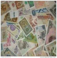 Belle Collection De 50 Billets De Banque Du Monde Tous Différents. - Billets