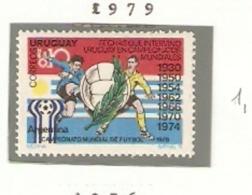 URUGUAY 1979  URUGUAY IN CAMPEONATOS MUNDIALES - Calcio