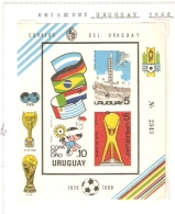 URUGUAY 1980 COPA DE ORO INPERFORATED