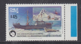 Chile 1987 Antarctica / Ship 1v  ** Mnh (32615C) - Chili