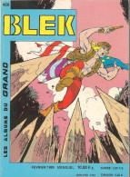 Blek N° 458 - Editions Sémic France à Lyon - Février 1989 - Avec Aussi Les Anges De L´enfer - TBE/Neuf - Blek