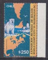 Chile 1989 World Expo Washington / Antarctica 1v ** Mnh (32615D) - Chili