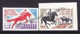Afars And The Issas - Afars Et Issas 1970 Yvert 365- 66 - Equestrianism - Hippisme - MNH - Afars Y Issas (1967-1977)
