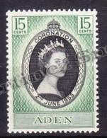 Aden 1953 Yvert 47  Coronation Of Elizabeth II - MNH - Aden (1854-1963)