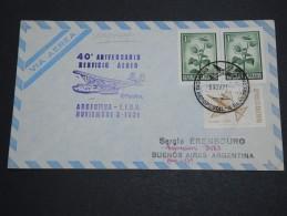 ARGENTINE - Enveloppe Et Oblitération Service Aérien En 1971 - A Voir - L  4042 - Cartas